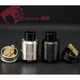 528 CUSTOM VAPE Goon 22 Black Authentic