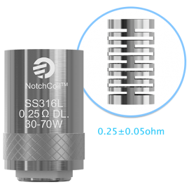 JOYETECH eGo One Notch Coil 0.25ohm DL