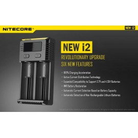 NITECORE New I2 Intellicharger