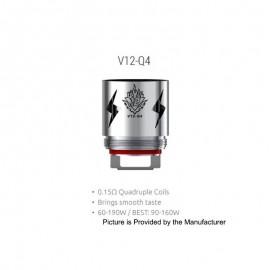 SMOK TFV12 Q4 Coils 0.15ohm 1pz