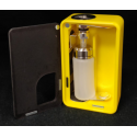Armageddon Squonker Yellow Box Door Frosted Black