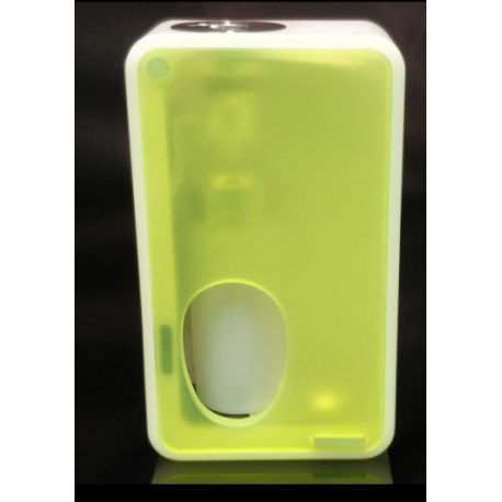 Armageddon Squonker White Box Door Frosted Green