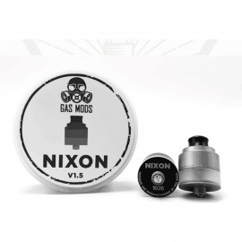 GAS MOD Nixon RDTA V1.5 Bottom Feeder 22 Acciaio