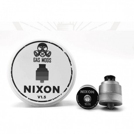 GAS MOD Nixon RDTA V1.5 Bottm Feeder 22 Acciaio